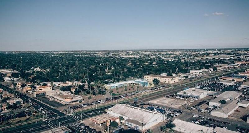 Toàn cảnh thành phố McAllen-Edinburg-Mission thuộc bang Texas
