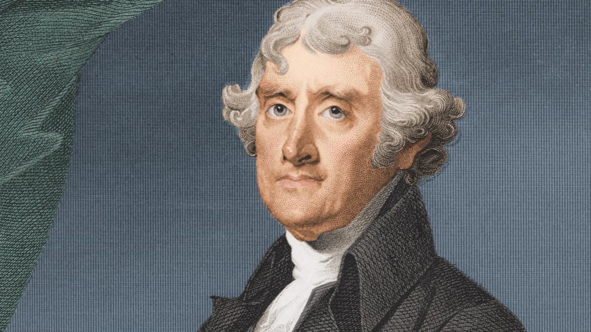 Tổng thống thứ 3 của nước Mỹ Thomas Jefferson