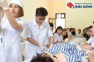 Điều kiện xét tuyển cao đẳng Điều dưỡng Trường Cao đẳng Y Dược Sài Gòn năm 2021